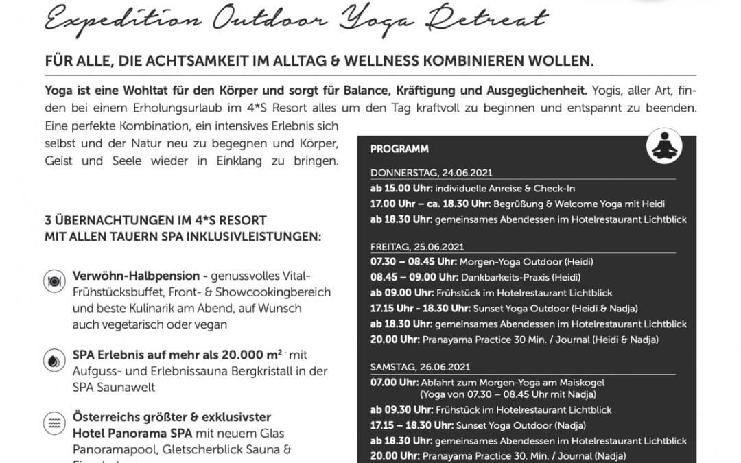 Tauern Spa Expedition Outdoor Yoga Reatreat
