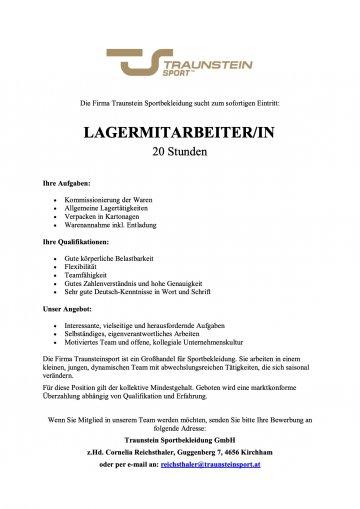 Team Traunsteinsport sucht Verstärkung!